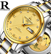 Genuine Rui edge watches men's automatic mechanical watches business men's watch luminous hollow water-proof fine steel