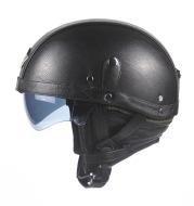 retro characteristic Harley helmets