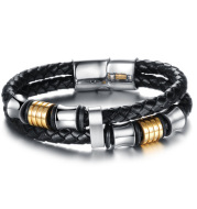 Magnetic buckle  knitted hand chain
