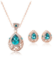 Hollow pattern jewelry set