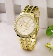 Women's diamond fashion quartz watch