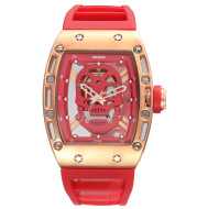 Waterproof sports quartz watch