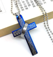Men's stainless steel necklace