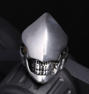 Stainless steel men's shaped ring
