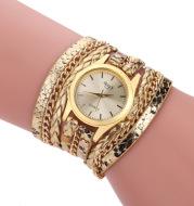 Ladies winding bracelet watch