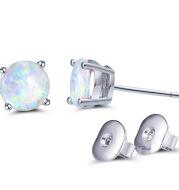 Personalized All-Match Opal Opal Fashion Earrings Earrings Female Earrings Earrings