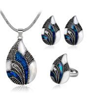 Water Drop Jewelry Set
