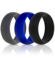 Men's electronic cigarette silicone ring