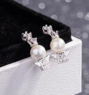 Little angel baby earrings