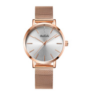 Mesh belt quartz watch