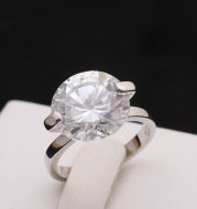 The sun cloud classic simulation diamond ring woman an accessory first ornament and a marriage engagement ring female mixed wholesale