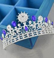 European Style Wedding Alloy Crown Hair Accessories