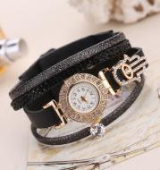 Fashion diamond decorated quartz watch