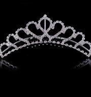 The bride wedding jewelry diamond ring wedding show little princess headdress Korean children hair ornaments factory direct crown