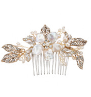 Mian Eno creative bride wedding photo Tiara Comb style wedding accessories shell freshwater pearl comb