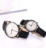 Couple casual watch