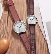Belt couple quartz watch