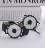 Personalized Inverted Pointer Watch Female Student Watch