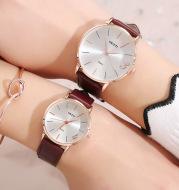 Couple belt waterproof watch