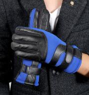 Touch screen Plush full finger gloves