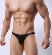 Men's Underwear Transparent Mesh Sexy Comfortable Briefs