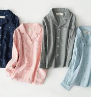 Men's cotton pajamas suit