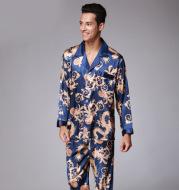Men's short-sleeved trousers pajama set