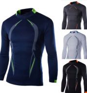 Men's casual long sleeve quick drying clothes