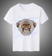 Cotton short-sleeved T-shirt men's printed t-shirt