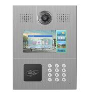 Door interphone visually intelligent city entrance guard interlocking OEM processing manufacturer's mobile unlock door