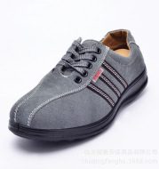 High quality calf leather insulated, oil resistant, oil resistant, acid base, PU bottom and common safety shoes