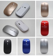 Factory direct businessthin wireless mouse + mobile U disk + pen three pieces of office gift custom-made LOGO
