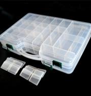 Sub box, double deck, double deck, double deck, sub bait, bait box, fake bait box, storage box, large capacity fishing box