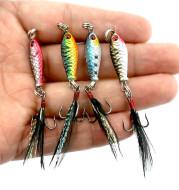 HENGJIA Mini lead fish bait 6.4g road subiron bait 2.5cm simulation metal bait