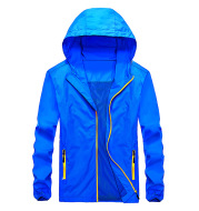 Spring and autumn jacket men outdoor dry coat Korean version of young men's wear thin jacket wind coat