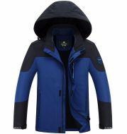 NIAN JEEP/shield new outdoors outdoors clothing, plush warm climbing suit men jacket jacket