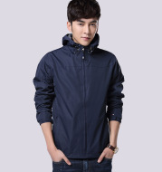 2021 autumn outdoors clothing male youths big code leisure coat thin section anti wind clothing mountaineering jacket jacket