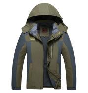 Factory direct sales fall 2021 fat XL fat fleece coat outdoor jackets men jacket