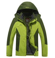 A new couple, a three in one, a thick jacket and a warm jacket, which can be disassembled for two pieces of men and women.