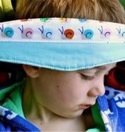 Pram Car Safety Seat Sleep Positioner Stroller Baby Head Support Fastening Belt Adjustable Pram Strollers Accessories
