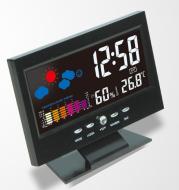 Multi-function large-screen calendar clock LED clock with backlight weather forecast digital desktop clock