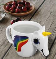 Original 3D Unicorn Color Changing Ceramic Coffee Tea Mug Multi Colour Cup Gift