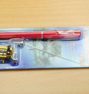 Telescopic drum pen rod fishing gear set