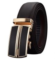 Automatic Buckle Leather Men Belt