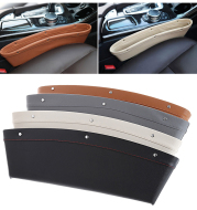 Auto Car Catch Catcher Box Caddy Seat Gap Slit Pocket Storage Holder Organizer