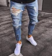 Stretchy Ripped Jeans