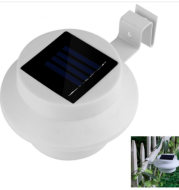 Outdoor Solar Powered LED Lamp