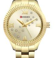 Karyn curren9009 fashion Diamond Stainless steel quartz watch