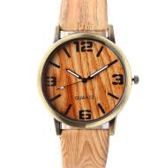 Wood Grain  Style Wrist Watch