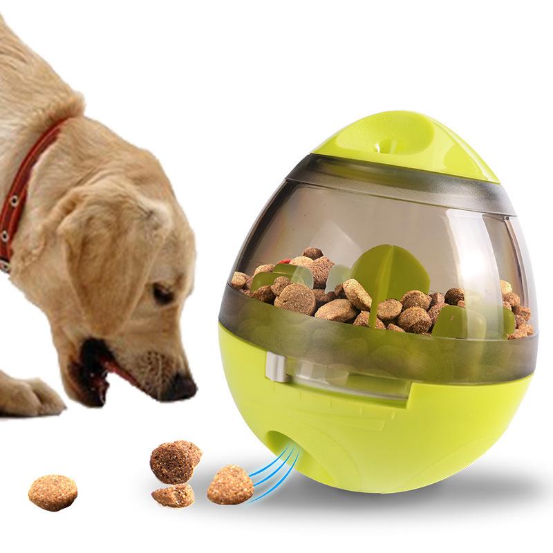 Pet Food Feeder Dispenser Funny Toy